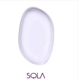 Sola Beauty Tool Make-up Gel Sponge (Silicone Sponge) พัฟซิลิโคนสุดฮิต นาทีนี้ใครๆก็ใช้ เจลซิลิโคนใส สำหรับลงรองพื้นได้เรียบเนียน ไม่กินเนื้อรองพื้นให้เปลืองเหมือนใช้ฟองน้ำหรือแปรงทั่วไป ทำให้เนื้อรองพื้นเนียนไปกับผิวลงรองพื้นได้เรียบเนียนขึ้น ทำความสะอาด
