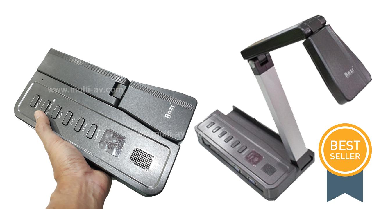 Visualizer Razr PT-545 Portable เครื่องฉายภาพ 3มิติ แบบพกพา