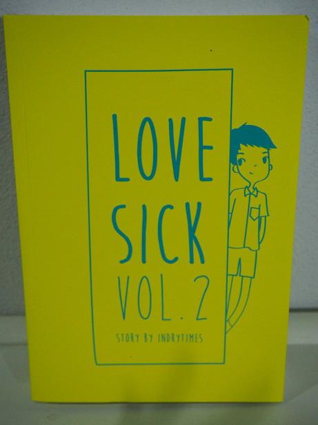 LOVE SICK : ชุลมุนหนุ่มกางเกงน้ำเงิน เล่ม 2 มัดจำ 500บ. ค่าเช่า 100บ.