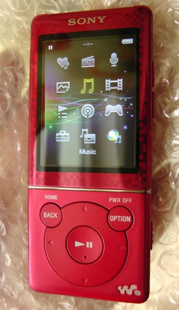 เครื่องเล่นวิดีโอ MP3 SONY Walkman E470