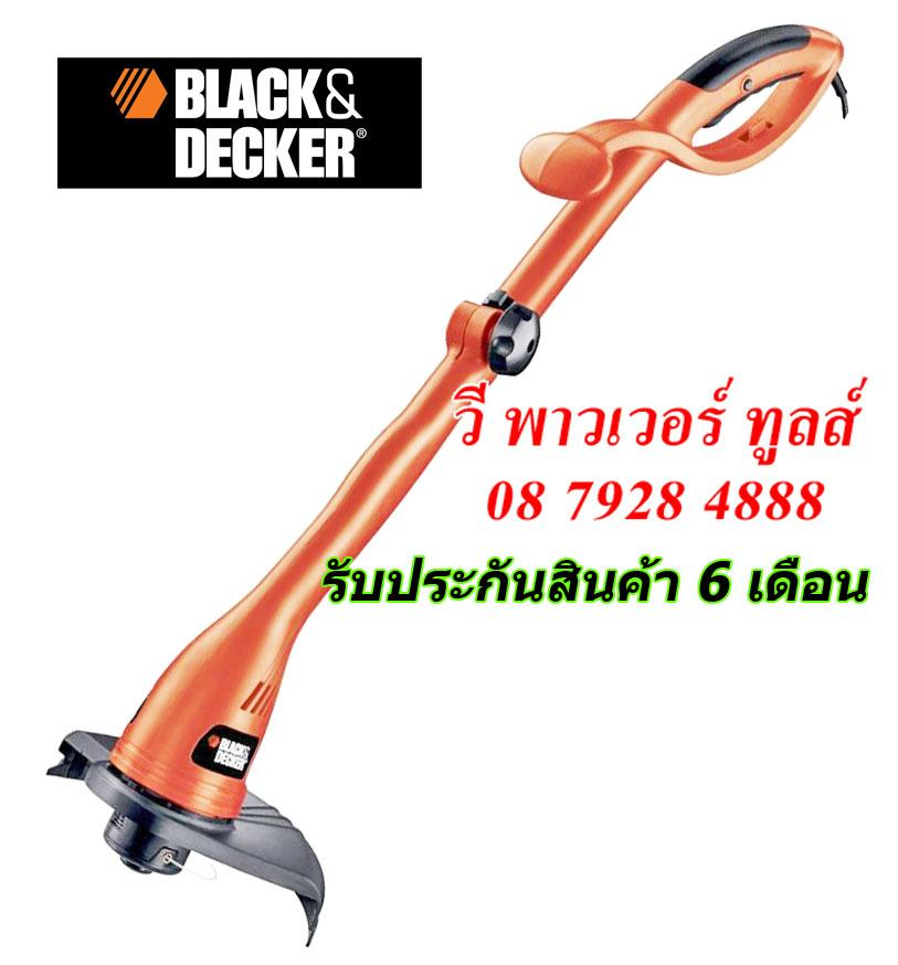 BLACK&DECKER GL300 เครื่องเล็มหญ้า สำหรับงานตกแต่งสวนภายในบ้าน