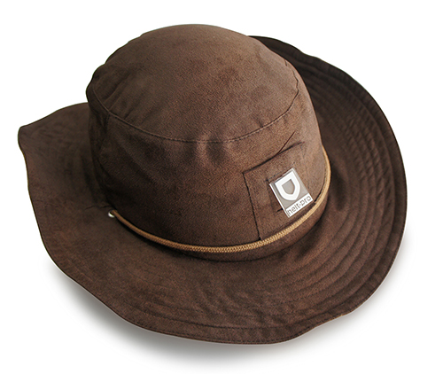 Helt-pro Butch Wild Hat with Hardshell - brown