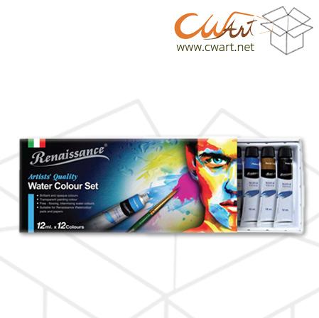 สีน้ำRenaissance x12สี,12ml ( ยกกล่อง 12ชุด )