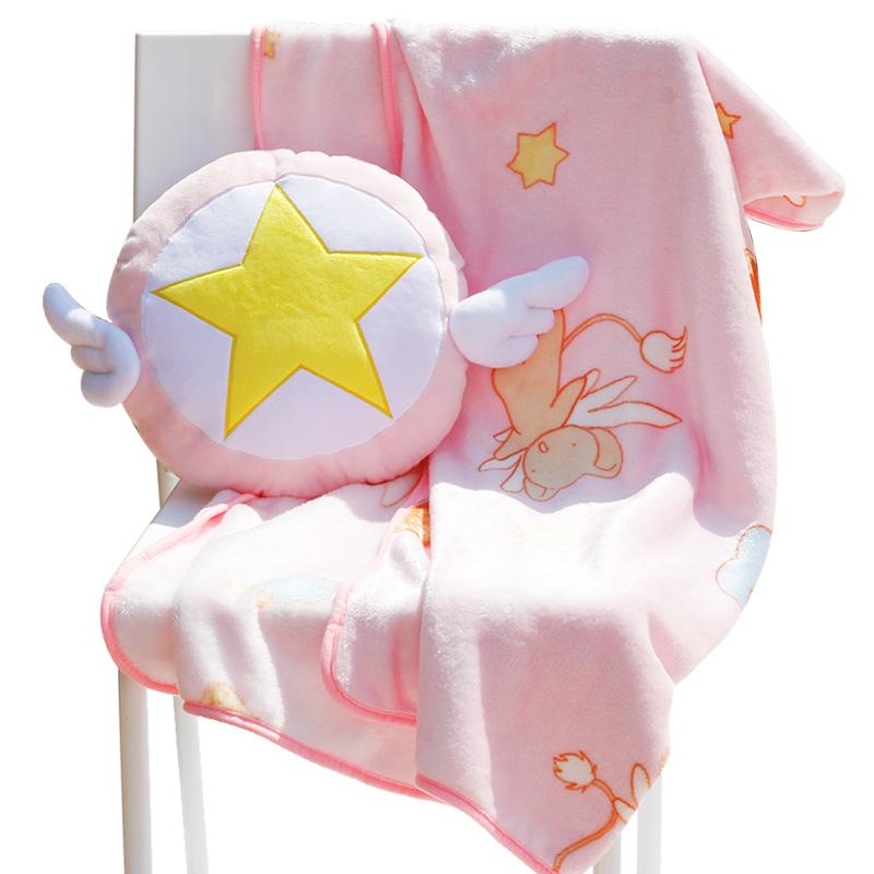 หมอนผ้าห่มลายซากุระมือปราบไพ่ทาโรต์