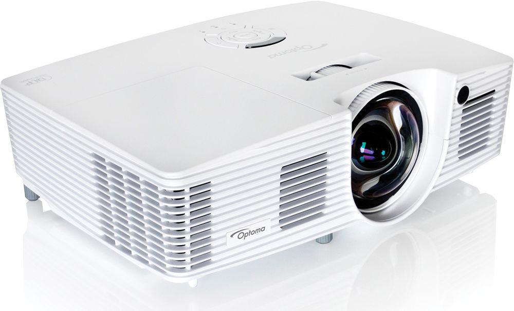 Optoma W316ST DLP 3D Super Short throw 3600 lm XGA 1280x800 Contrast 20000:1