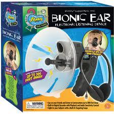 อุปกรณ์หูฟังไบโอนิคเครื่องดักฟัง