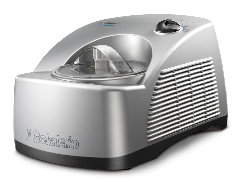Delonghi เครื่องทำไอศกรีม ขนาด 1.2 ลิตร DeLonghi รุ่น ICK6000 สีเงิน