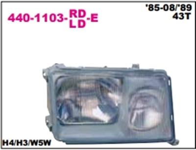 เสื้อไฟหน้า BENZ W124 ปี85-92