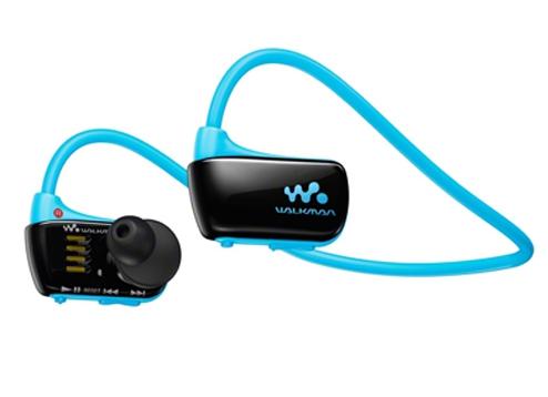 Sony เครื่องเล่น MP3 Walkman กันน้ำ รุ่น NWZ-W273S สีฟ้า