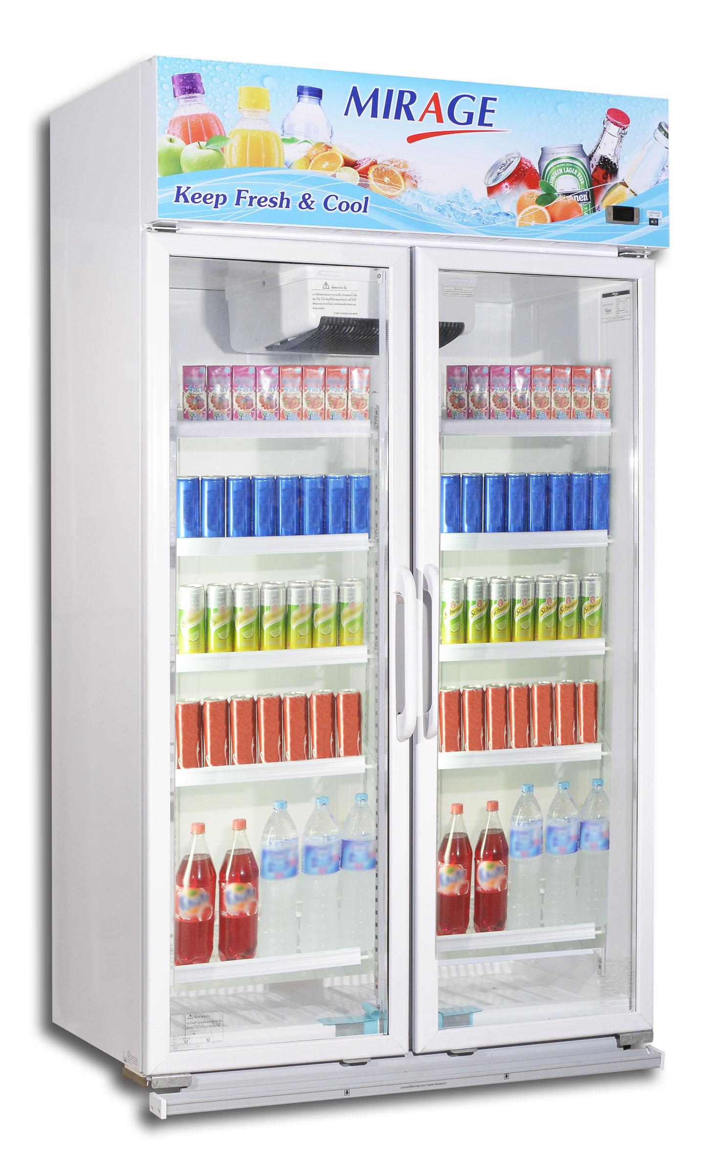 Mirage ตู้แช่เย็น / เครื่องดื่ม 2 ประตู จุ 24.5 คิว/694 ลิตร รุ่น BC62FN