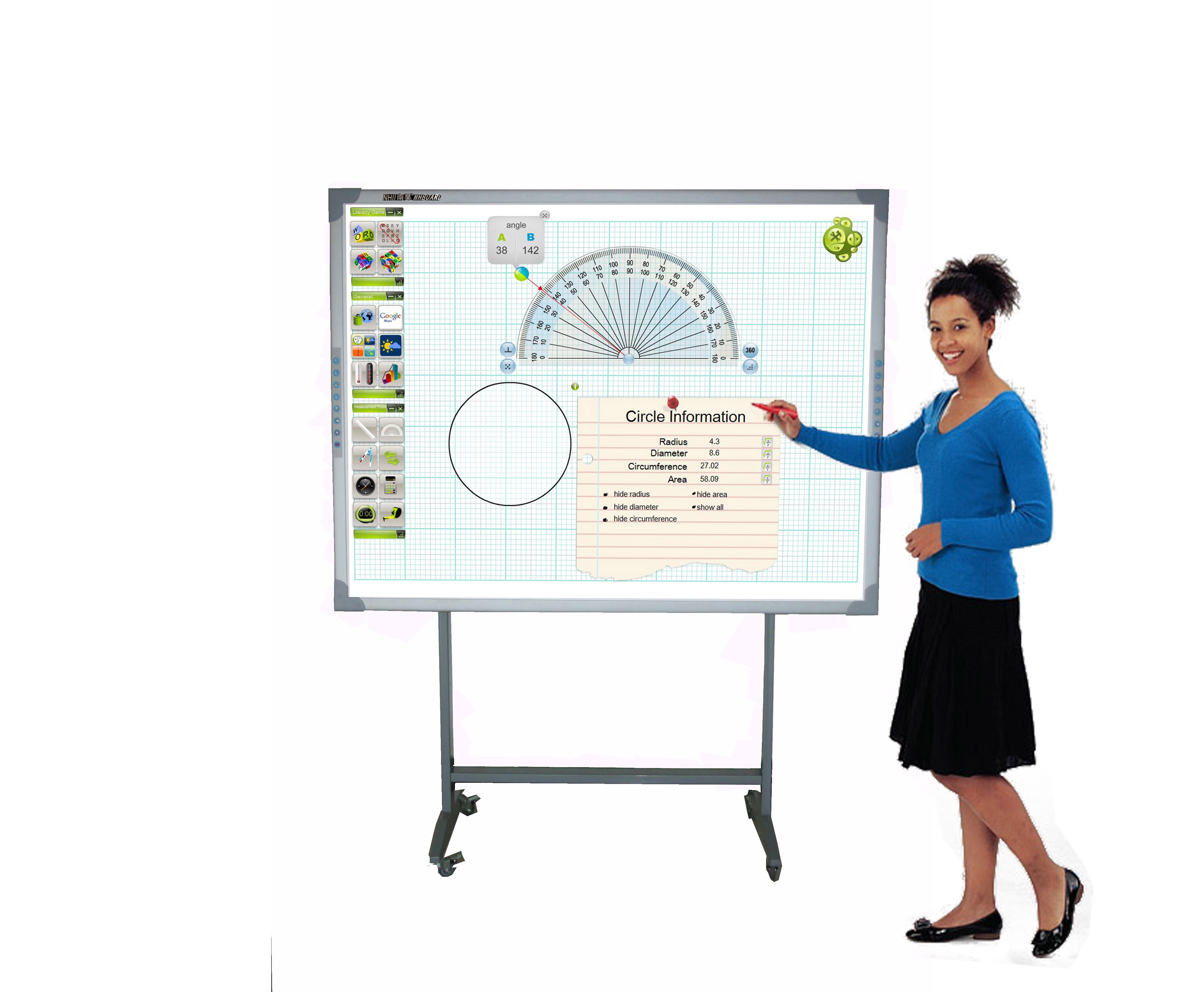 Razr i-Board-i85Q interactive board กระดานอัจฉริยะ