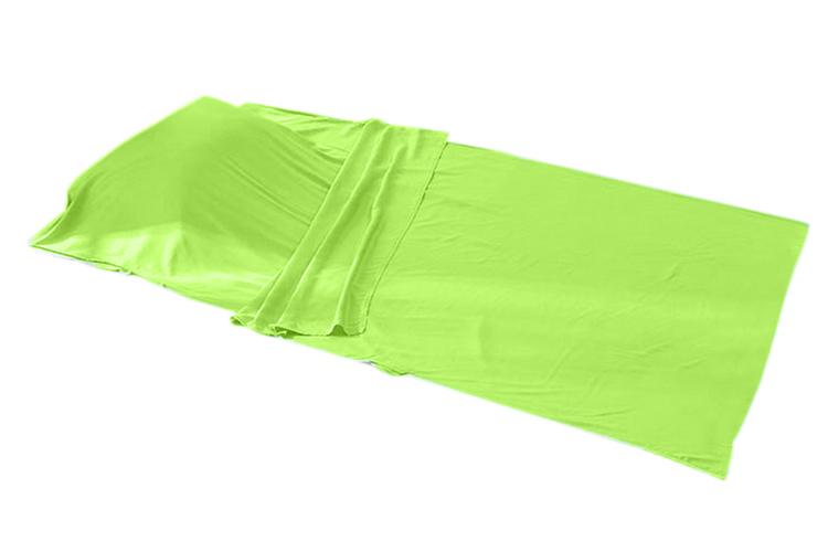 ถุงนอนผ้า cotton (เบา-เล็กพิเศษ) สีเขียว