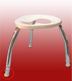 เก้าอี้นั่งถ่าย สำหรับครอบชักโครกได้ (เฉพาะบางรุ่น) Code : 100-SH-003