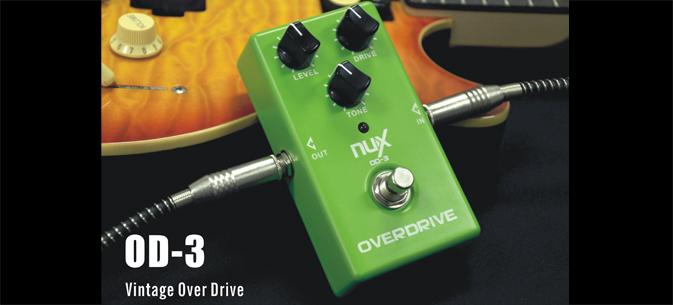 เอฟเฟ็คก้อน ยี่ห้อ Nux เสียง Overdrive OD-3