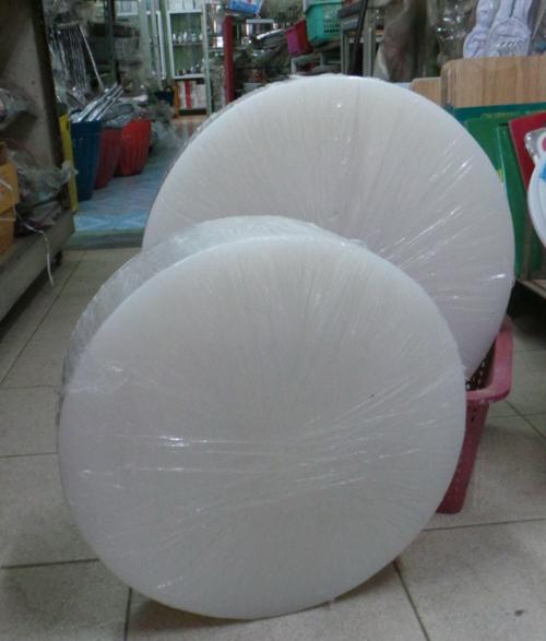 เขียงพลาสติกหนาอุตสาหกรรมแทนเขียงไม้ ขนาด 16 นิ้ว 008-CB4012