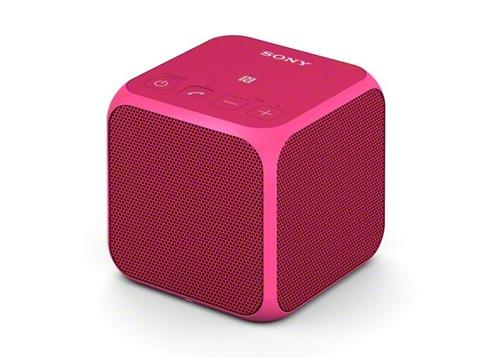 Sony ลำโพงพกพา Bluetooth® แบบไร้สาย รุ่น SRS-X11 (สีชมพู)