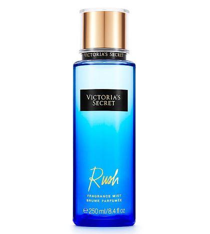 Victoria's Secret Fantasies Rush Fragrance Mist 250 ml. *แพคเกจใหม่ 2016* สเปร์ยน้ำหอม ให้ความหอมรัญจวนใจ กลิ่นติดทนนาน 7-12 ชั่วโมง กลิ่นโทนผลไม้ผสมกับกลิ่นดอกไม้ หอมหวานสดชื่นคะ