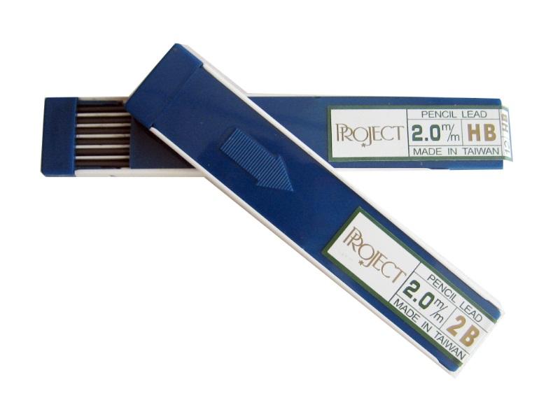 ไส้ดินสอ 2มม. Project 1หลอด/12ไส้ (Project 2mm lead refill Pack of 12)