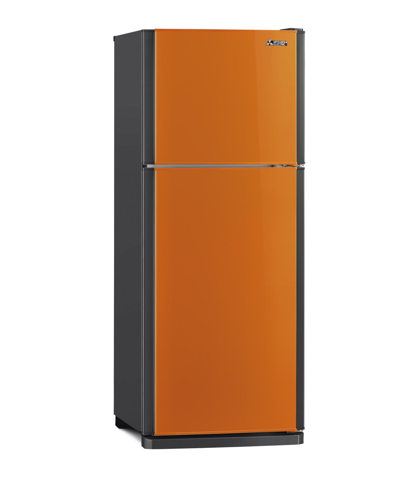 Mitsubishi ตู้เย็น 2 ประตู ขนาด 6.4 คิว รุ่น MR-F21 - สีส้ม