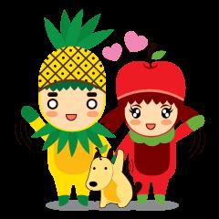 ไพน์+แอปเปิ้ล & แมงโก้(รักคือสิ่งสวยงาม)