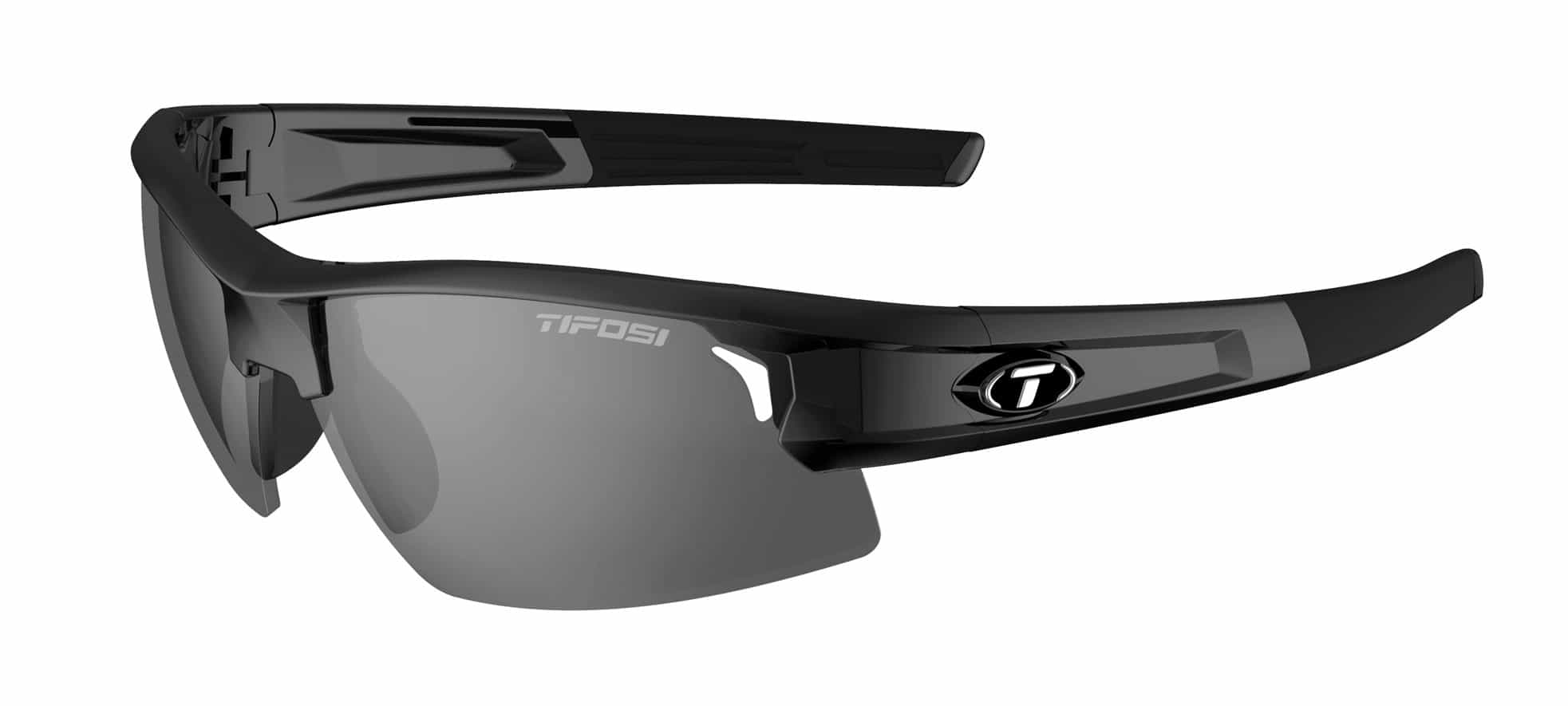 Tifosi SYNAPSE Gloss Black (Smoke Polarized)