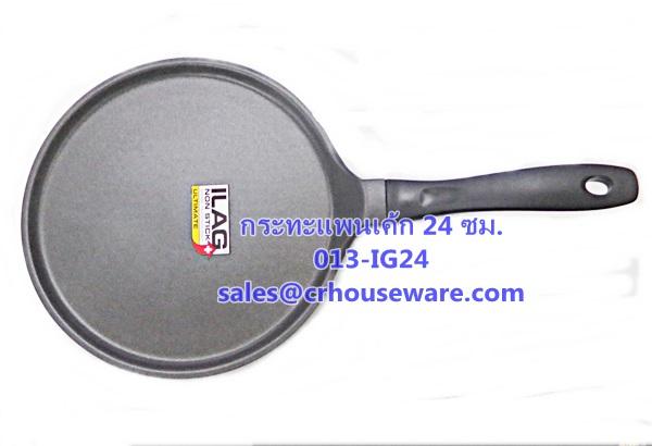 กระทะแพนเค้ก,กระทะเทปล่อน, Pancake Pan Code : 013-IG24