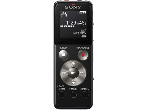 Sony เครื่องบันทึกเสียงระบบดิจิตอล UXSeries 4GB รุ่น ICD-UX543 สีดำ