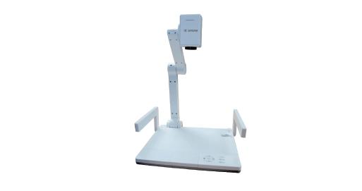 "GyGar Visualizer GL-843 อุปกรณ์สร้างสัญญาณภาพ 1/3"" CMOS • จุดแสดงผล 5 ล้านพิกเซล • ความละเอียดภาพ 800 TV Line • ระบบสัญญาณภาพ (Native) XGA, SXGA, 720p, 1080p • อัตราการจับภาพ 25 FPS"