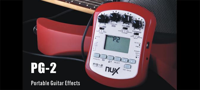เอฟเฟ็คมัลติ Nux Multi-effects Processor PG-2