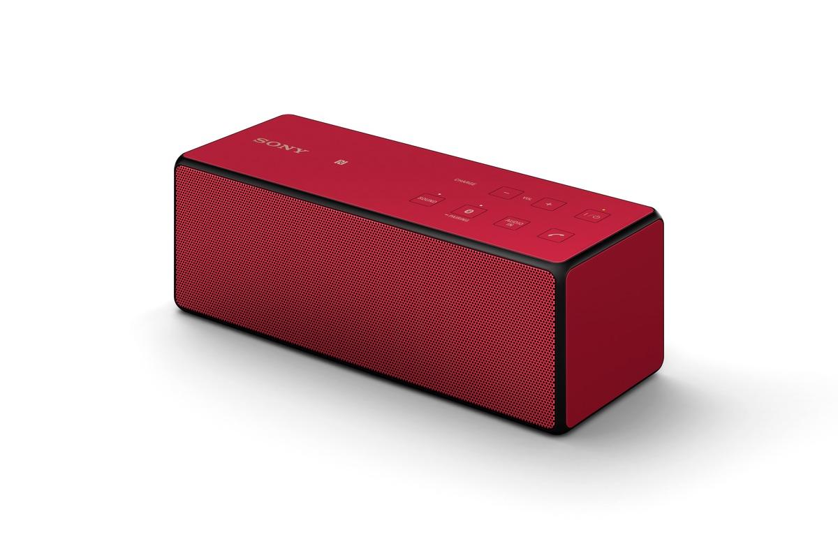 Sony ลำโพงบลูทูธไร้สาย รุ่น SRS-X3 สีแดง