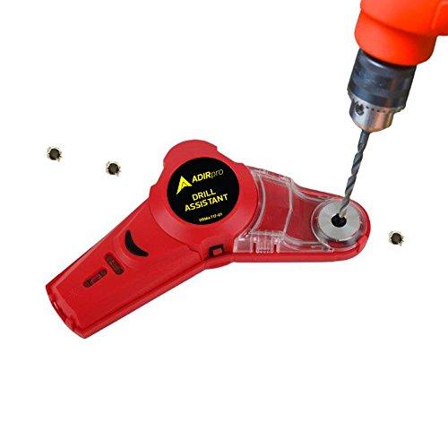 เครื่องวัดระดับเลเซอร์และที่เก็บผงจากสว่าน Drill Buddy
