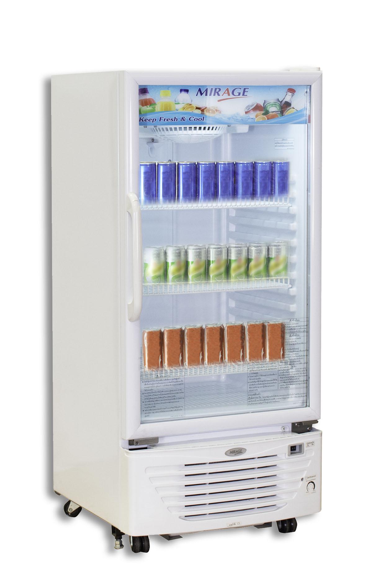 Mirage ตู้แช่เย็น / เครื่องดื่ม 1 ประตู จุ 7.1 คิว/201 ลิตร รุ่น BC172WN