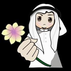 Arab guy , Keffiyeh lover