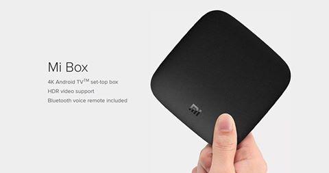 กล่อง Android TV Xiaomi box 4