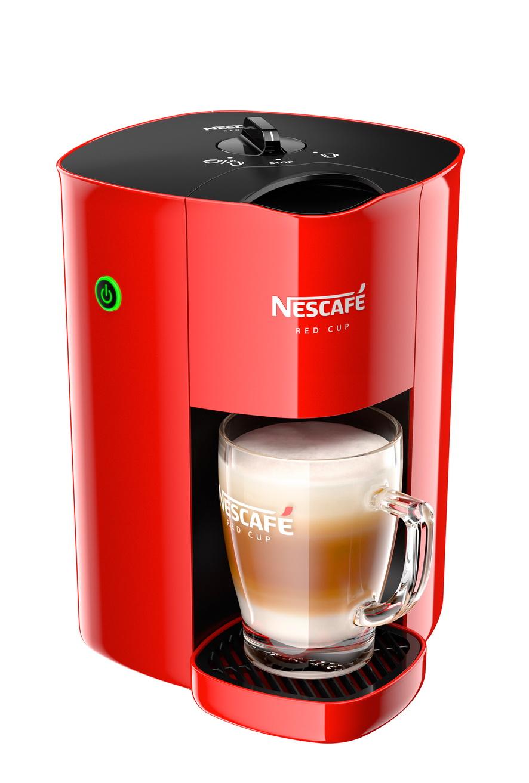 NESCAFE เครื่องชงการแฟผงสำเร็จรูป ความจุ 0.9 ลิตร รุ่น NESCAFE RED CUP สีแดง