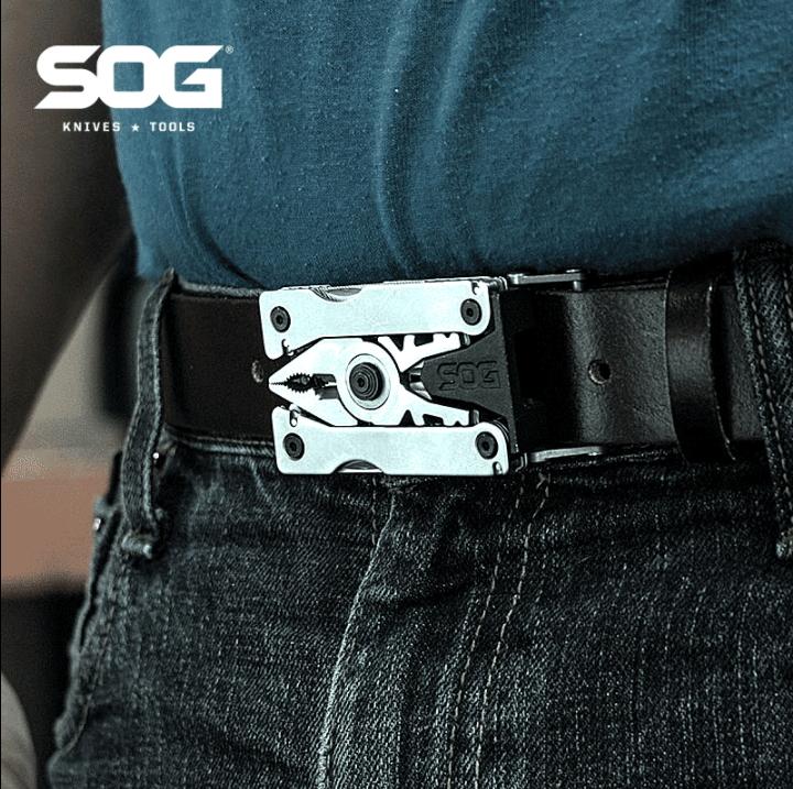หัวเข็มขัดเครื่องมือช่าง SOG Sync