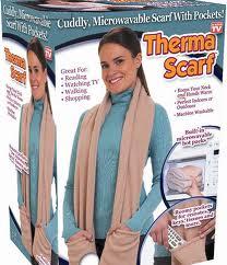 ผ้าคลุมคอและไหล่ therma scarf