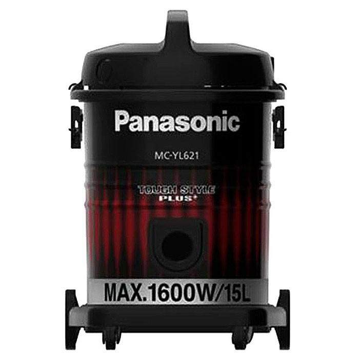 Panasonic เครื่องดูดฝุ่น 1,600 วัตต์ จุฝุ่นได้ 15 ลิตร รุ่น MC-YL621 สีดำ