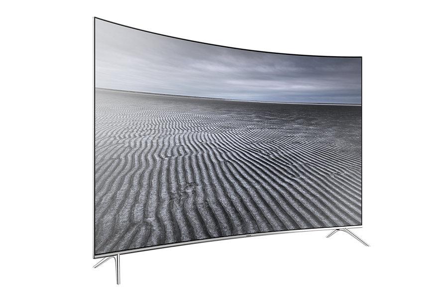 Samsung 4K Digital Smart Curved SUHD LED TV ขนาด 55 นิ้วรุ่น UA-55KS7500