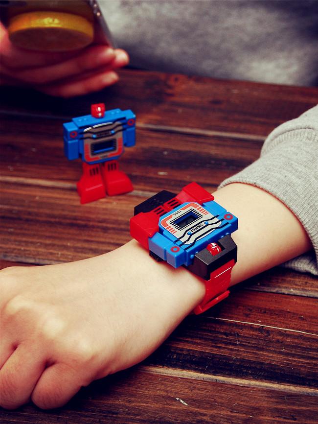 นาฬิกาข้อมือหุ่นยนต์