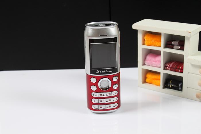 โทรศัพท์มือถือน้ำอัดลมกระป๋อง
