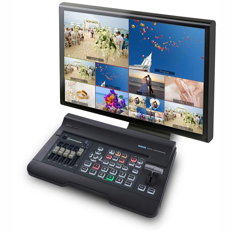 Datavideo SE-650 สวิทช์สลับสัญญาณวิดีโอ HD 2 สัญญาณ Input แบบ HD-SDI และ 2 สัญญาณ Input แบบ HDMI สนับสนุนความละเอียดวิดีโอ 1080i