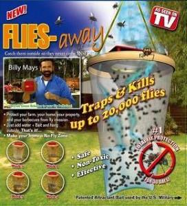 เครื่องดักแมลงวันและแมลงทั่วไป FLies Away