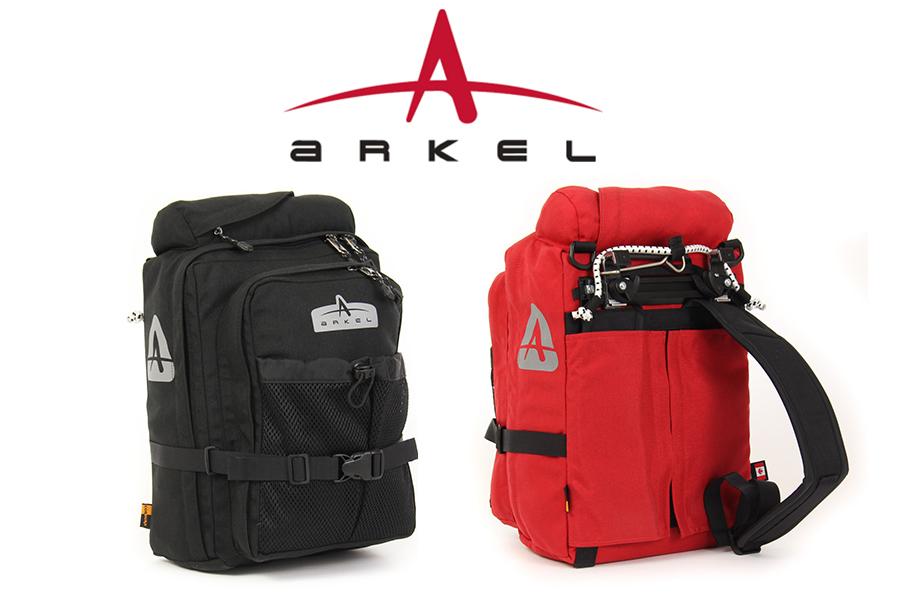 ARKEL GT-18PB BACKPACK PANNIER COMBO