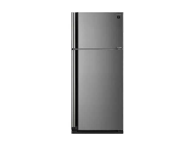 Sharp ตู้เย็น 2 ประตูความจุ 19.3 คิว J-TECH INVETER รุ่น SJ-X54TP-SL สีเงิน