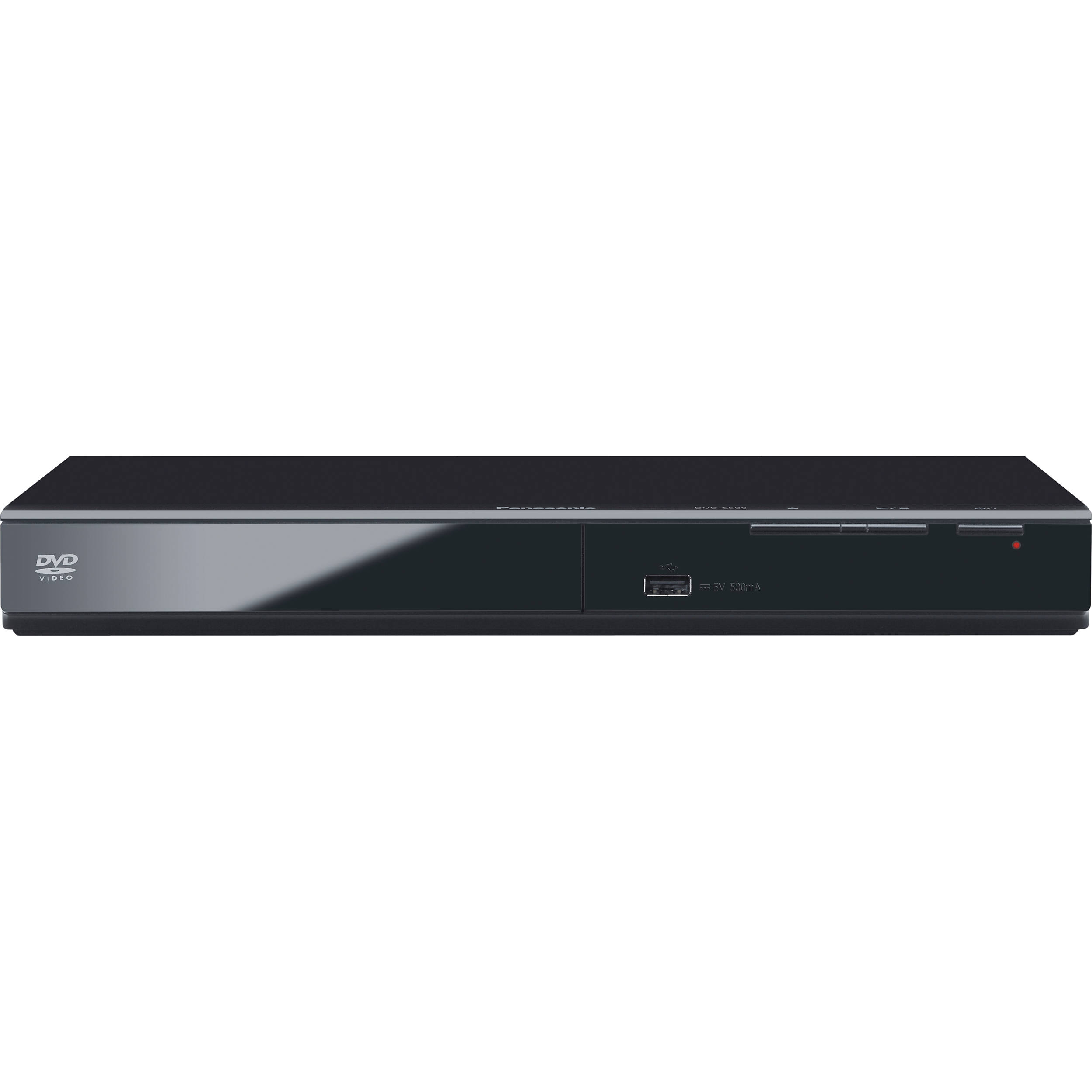 PANASONIC DVD PLAYER รุ่น DVD-S500GJ-K สีดำ