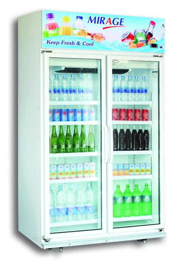 Mirage ตู้แช่เย็น / เครื่องดื่ม 2 ประตู จุ 36.5 คิว/1030 ลิตร รุ่น BC102FN