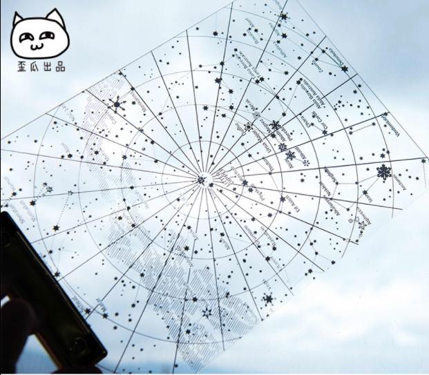 แผ่นรองเขียนดวงดาว North Star Map