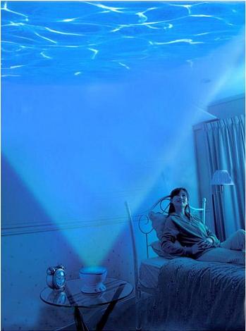 โคมไฟสร้างบรรยากาศทะเล