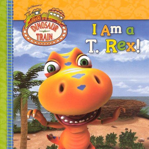 Dinosaur Train I Am a T-Rex (Grosset & Dunlap) หนังสือการ์ตูนจากทีวีโชว์ยอดฮิต เรียนรู้พันธ์ุไดโนเสาร์ยอดนิยม